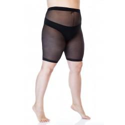 Hõõrdumisvastased lühikesed sukkpüksid, 30-DEN, elastiil