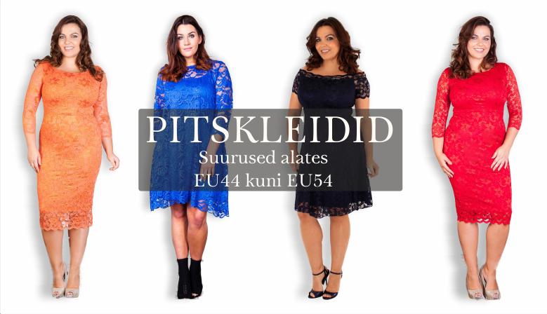 Pitskleidid - suurused 44 kuni 54